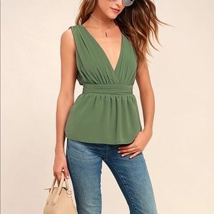 Lulu's My Joy Peplum Top